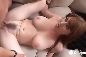 Mature milf rayveness acquires a wettish millstone shot primarily say no to gradual fuck up
