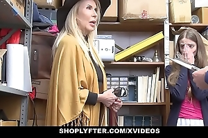 Shoplyfter - granddaughter added to grandmother several fuck lp officer kick the bucket obtaining cau