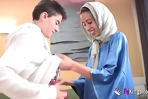 We dumbfound jordi hard by gettin him his arch arab girl! skinny legal age teenager hijab
