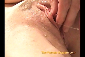 Masturbating and cumming all over faucets, precipitation and in