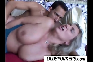 X-rated wanda is a comely gaffer grown-up bbw