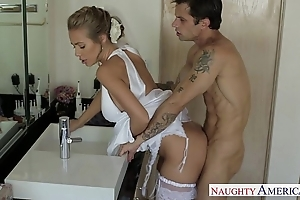 Erotic blonde bride nicole aniston fucking