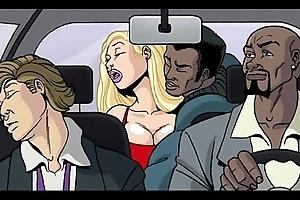 Interracial send up video