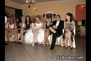 Bridal girlfriend upskirts!