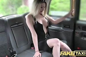 Fake taxi-cub shove around sexy bazaar close to a great council loves blarney