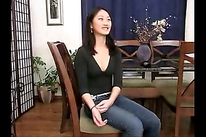 Evelyn lin - dilettante anal attempts 4 (her First scene ever)