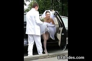 Tyrannical brides hawt in public!