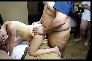 Amber buttslut first group sex bukkake