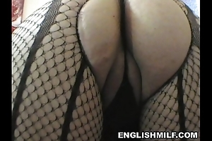 Broad just about the beam nuisance english milf chunky hinie aerobics just about hose