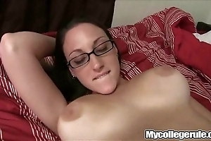 Taan in glasses drilled firm in the first place mycollegrule