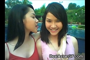 Unmixed legal age teenager asian gfs!