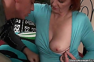 Grandma desires your fist coupled with fond cum