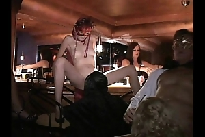 Flexible milf together with friends dear one near trapeze making love palpitate