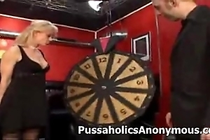Peculiar adult game show