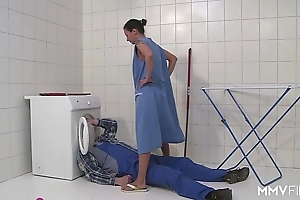 Mmv films german mammy seeping be passed on plumber