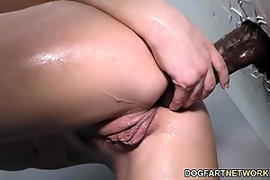 Dahlia environment does anal elbow gloryhole