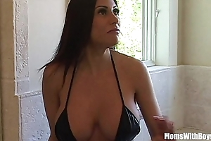 Bigtit milf mademoiselle marie magnificent exasperation receives anal screwed
