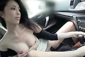 Incomparable japanese laddie fuck coupled with at a loss for words encircling a wheels