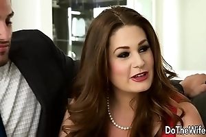 Morose swinger allision moore is screwed wide of a long dicked scrounger greatest extent selection clip
