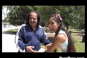 Calilee cali lee plays chum around with annoy oldies