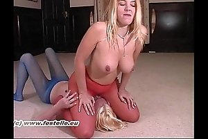 Pantyhose catfight erika vs lucy 2
