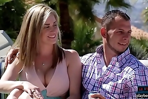 Newbie couple embraces chum around with annoy unreasonable swingers learning