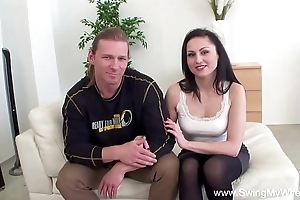 Wed assents at hand sexual connection with stranger